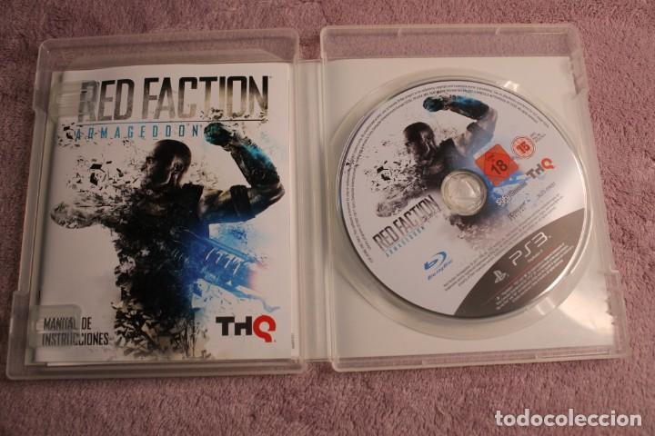 Videojuegos y Consolas: RED FACTION ARMAGEDON EDICIÓN COMANDO Y RECONOCIMIENTO PS3 - Foto 4 - 238157305