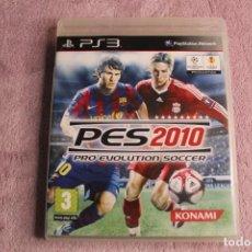 Videojuegos y Consolas: PES2010 PRO EVOLUTION SOCCER PS3. Lote 238157385