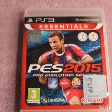 Videojuegos y Consolas: PES2015 PRO EVOLUTION SOCCER PS3. Lote 238157540