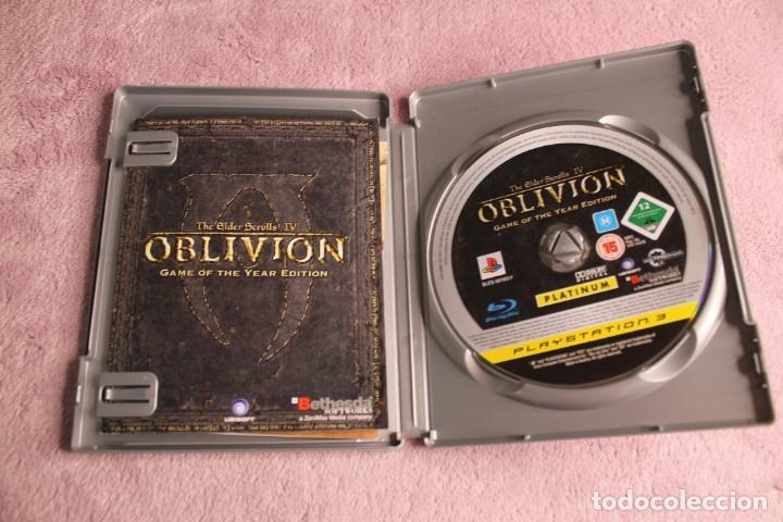 Videojuegos y Consolas: OBLIVION THE ELDER SCROLLS IV GAME OF THE YEAR EDITION PS3 INCLUYE MAPA - Foto 2 - 238157835