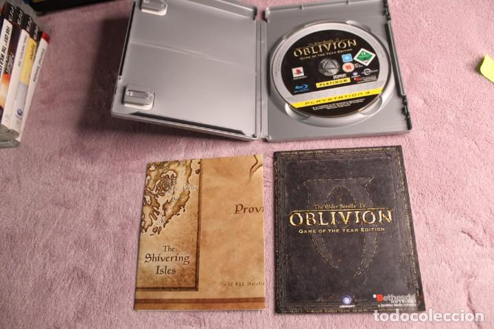 Videojuegos y Consolas: OBLIVION THE ELDER SCROLLS IV GAME OF THE YEAR EDITION PS3 INCLUYE MAPA - Foto 3 - 238157835
