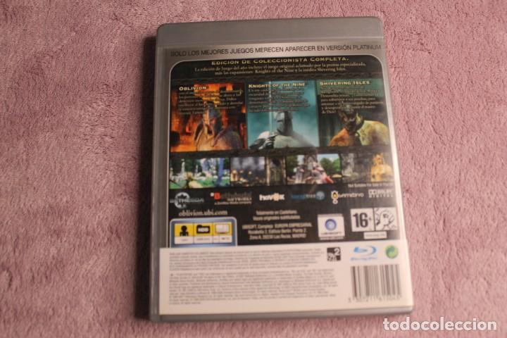 Videojuegos y Consolas: OBLIVION THE ELDER SCROLLS IV GAME OF THE YEAR EDITION PS3 INCLUYE MAPA - Foto 5 - 238157835