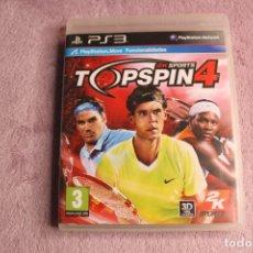 Videojuegos y Consolas: TOPSPIN4 2KSPORTS PS3. Lote 238157895