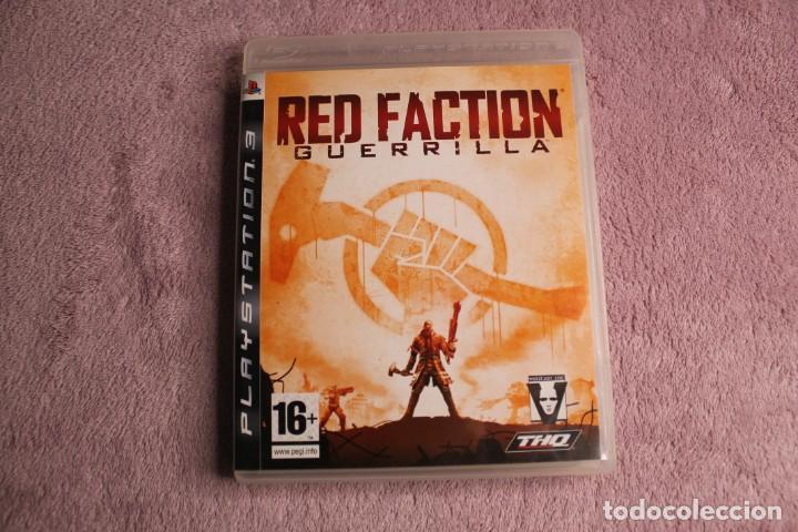 RED FACTION GUERRILLAPS3 (Juguetes - Videojuegos y Consolas - Sony - PS3)