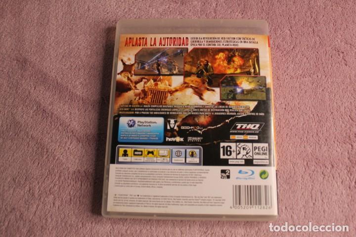 Videojuegos y Consolas: RED FACTION GUERRILLAPS3 - Foto 3 - 238158000
