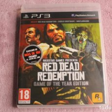 Videojuegos y Consolas: RED DEAD REDEMPTION GAME OF THE YEAR EDITION PS3 CON MAPA. Lote 238158165