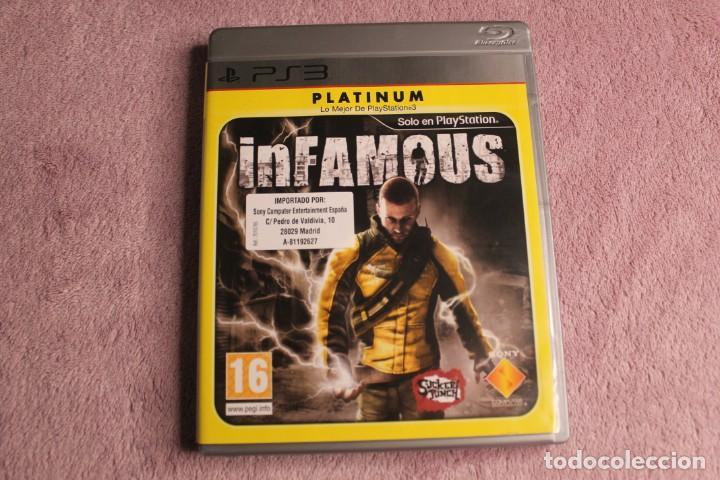 INFAMOUS PLATINIUM PS3 (Juguetes - Videojuegos y Consolas - Sony - PS3)