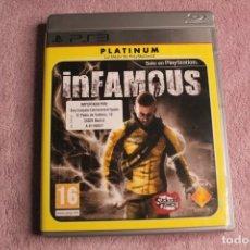 Videojuegos y Consolas: INFAMOUS PLATINIUM PS3. Lote 238158320