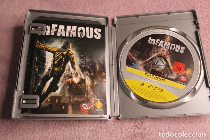 Videojuegos y Consolas: INFAMOUS PLATINIUM PS3 - Foto 2 - 238158320