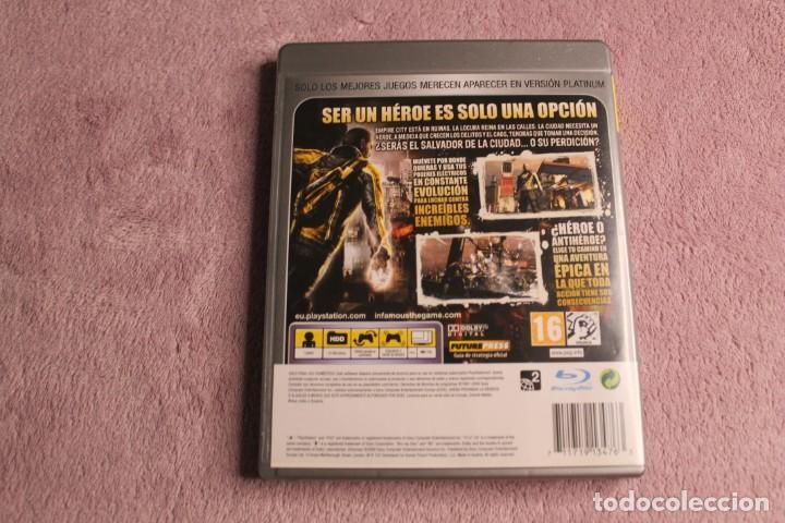 Videojuegos y Consolas: INFAMOUS PLATINIUM PS3 - Foto 3 - 238158320
