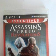 Videojuegos y Consolas: JUEGO PS3 ASSASSINS CREED REVELATIONS. Lote 239968735