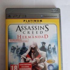 Videojuegos y Consolas: JUEGO PS3 ASSASSINS CREED HERMANDAD. Lote 239968930