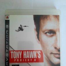 Videojuegos y Consolas: JUEGO PS3 TONY HAWK´S PROJECT 8. Lote 239969060