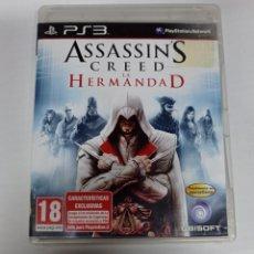 Videojuegos y Consolas: ASSASSIN'S CREED LA HERMANDAD PS3. Lote 240212485