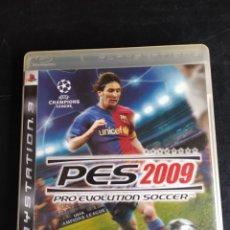 Jeux Vidéo et Consoles: PES 2009. Lote 240809650