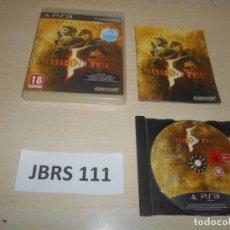 Videogiochi e Consoli: PS3 - RESIDENT EVIL 5 GOLD EDITION , PAL ESPAÑOL , COMPLETO. Lote 241124585