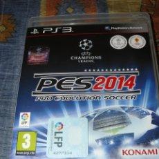 Videojuegos y Consolas: JUEGO PC: PES (PRO EVOLUTION SOCCER) 2014. Lote 241200095