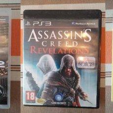 Videojuegos y Consolas: PACK DE 3 JUEGOS PARA PS3 - FALLOUT 3 PLATINUM + ASSASSINS CREED REVELATIONS + CRYSIS 2. Lote 241859175
