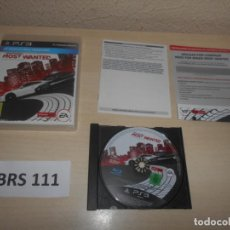 Videojuegos y Consolas: PS3 - NEED FOR SPEED - MOST WANTED , PAL ESPAÑOL , COMPLETO. Lote 243015725