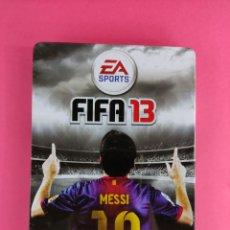 Videojuegos y Consolas: FIFA 13 PS3 , CAJA METÁLICA,PAL ESPAÑA. Lote 243371750