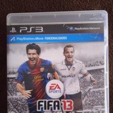 Videojuegos y Consolas: FIFA 13 PLAYSTATION 3. Lote 243841095