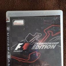 Videojuegos y Consolas: F1 CHAMPIONSHIP EDITION PLAYSTATION 3. Lote 243844760
