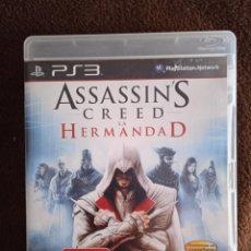 Videojuegos y Consolas: ASSASSINS CREED LA HERMANDAD PLAYSTATION 3. Lote 243845240