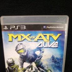 Videojuegos y Consolas: PS3, MX VS ATV ALIVE. Lote 244197075