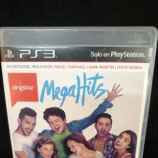 Videojuegos y Consolas: PS3, SINGSTAR MEGA HITS. Lote 244198245