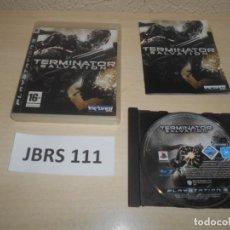 Videojuegos y Consolas: PS3 - TERMINATOR SALVATION , PAL UK , INCLUYE ESPAÑOL , COMPLETO. Lote 244637590