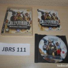 Videojuegos y Consolas: PS3 - CALL OF JUAREZ - BOUND UN BLOOD , PAL ESPAÑOL , COMPLETO. Lote 244639285