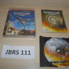 Videojuegos y Consolas: PS3 - WARHAWK , PAL ESPAÑOL , COMPLETO. Lote 244639560