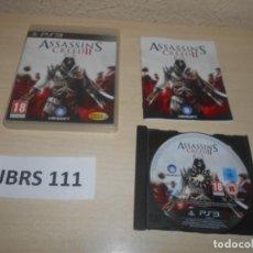 Videojuegos y Consolas: PS3 - ASSASINS CREED II , PAL ESPAÑOL , COMPLETO. Lote 244639850