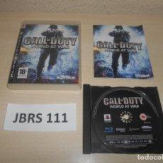 Videojuegos y Consolas: PS3 - CALL OF DUTY - WORLD AT WAR , PAL ESPAÑOL , COMPLETO. Lote 244640280