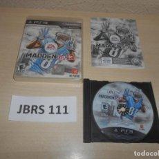 Videojuegos y Consolas: PS3 - MADDEN 13 , PAL UK , COMPLETO. Lote 244640435