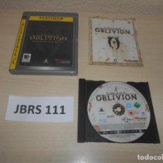 Videojuegos y Consolas: PS3 - THE ELDER SCROLLS IV OBLIVION , PAL ESPAÑOL , COMPLETO. Lote 244640665