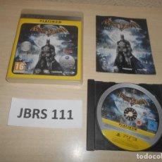 Videojuegos y Consolas: PS3 - BATMAN ARKHAM ASYLUM , PAL ESPAÑOL , COMPLETO. Lote 244640775