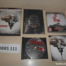 Videojuegos y Consolas: PS3 - THE EVIL WITHIN - LIMITED EDITION , PAL ESPAÑOL , COMPLETO. Lote 244640875