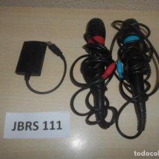 Videojuegos y Consolas: CONSOLAS - PAREJA DE MICROFONOS ORIGINALES SONY , PARA PLAYSTATION 3. Lote 244641585