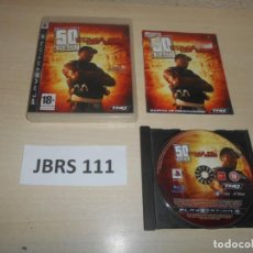 Videojuegos y Consolas: PS3 - 50 CENT BLOOD ON THE SAND , PAL ESPAÑOL , COMPLETO. Lote 244733470