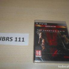 Videojuegos y Consolas: PS3 - METAL GEAR SOLID V - THE PHANTON PAIN - DAY ONE EDITION , PAL ESPAÑOL , PRECINTADO. Lote 244734425
