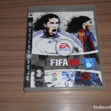 Videojuegos y Consolas: FIFA 08 COMPLETO PLAYSTATION 3 PAL ESPAÑA. Lote 244767805