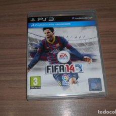 Videojuegos y Consolas: FIFA 14 COMPLETO PLAYSTATION 3 PAL ESPAÑA. Lote 244767855