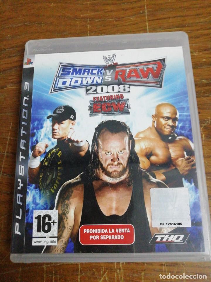 SMACK DOWN VERSUS RAW 2008 /PLAY 3 (Juguetes - Videojuegos y Consolas - Sony - PS3)