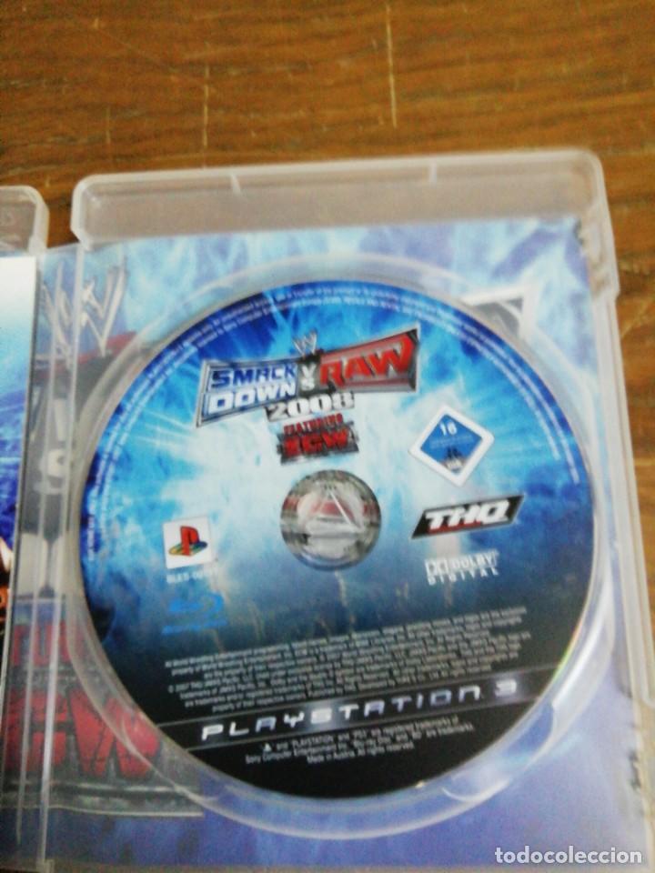 Videojuegos y Consolas: SMACK DOWN VERSUS RAW 2008 /PLAY 3 - Foto 2 - 244802190