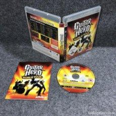 Videojuegos y Consolas: GUITAR HERO WORLD TOUR SONY PLAYSTATION 3 PS3. Lote 244837675