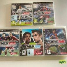 Videojuegos y Consolas: LOTE DE PES DEL 2008 AL 2012. Lote 245217850