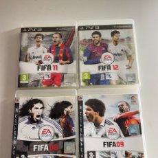 Videojuegos y Consolas: LOTE DE FIFA 08 - 09 - 11 - 12. Lote 245218200