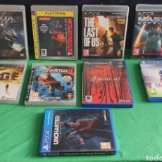 Videojuegos y Consolas: LOTE DE JUEGOS PLAYSTATION 3 Y 4 Y 2 TAL CUAL COMO SE VE EN FOTOS. Lote 245309660
