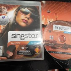 Videogiochi e Consoli: SINGSTAR POP 2009 - PLAYSTATION 3 PS3 - PAL ESP. Lote 245443855